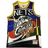 Uniforme de Baloncesto Personalizado Privado de Tendencia Hip-Hop de los Nets Camiseta de Baloncesto Personalizada Kyrie Irvi