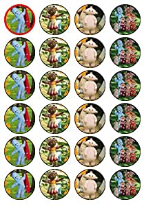 24 x In The Night Garden (#2) Cupcake Cake Toppers: Amazon ...