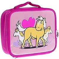 Bugzz Childrens I Love Pony Lunch Bag Pink Food Container preisvergleich bei kinderzimmerdekopreise.eu