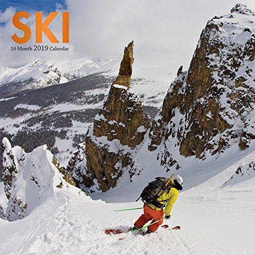 Ski - Skifahren 2019 - 16-Monatskalender: Original BrownTrout/Wyman Publishing-Kalender [Mehrsprachig] [Kalender] por Browntrout Canada