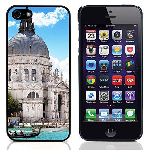 Graphic4You Manarola Italy Postkarte Ansichtskarte Design Harte Hülle Case Tasche Schutzhülle für Apple iPhone 5 und 5S Venice #4