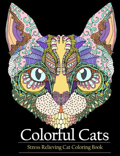 Adult-Coloring-Book-Colorful-Cats-Stress-relieving-Cat-coloring-books-to-help-you-relax-and-unwind