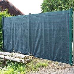DEMA Sichtschutzzaun 25 x 2 m dunkelgrün