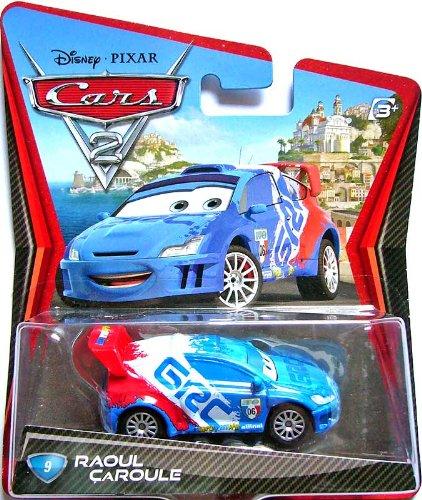 Disney Cars 2 V2809 Raoul Caroule Die Cast Fahrzeug Cars 2 - Nr 09 (Cars 2 Disney Diecast)