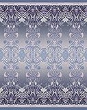 Bassetti Plaid Wolle - Moreta V7 - Größe: 145 x 180 cm - Farbe: Grau in