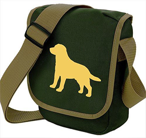 Bag Pixie - Borsa a tracolla unisex adulti Yellow Lab Olive Bag