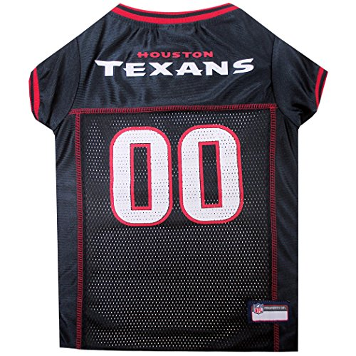 NFL-Haustiertrikot, Hundetrikot, American Football, lizenziertes American-Football-Trikot für Hunde, 32 NFL-Teams verfügbar, in 6 Größen erhältlich, Football-Haustiertrikot, Sport-Netztrikot, Hundetrikot Front Jersey Dress