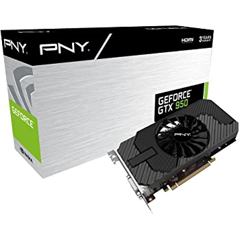 PNY GeForce GTX 950 Scheda Video con 2 GB GDDR5, Nero