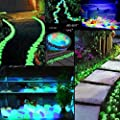 100 Stück Leuchtsteine nachtleuchtende Steine leuchtende Kiesel Aquarium Garten Deko von Interlink-UK auf Du und dein Garten