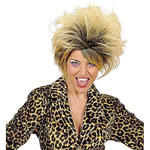80er Jahre Pop Star Damen Perücke (Madonna Perücke 80er Jahre)