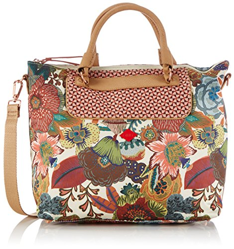 oilily-oilily-city-carry-all-bolsa-de-la-compra-de-material-sintetico-mujer-color-blanco-talla-37x28