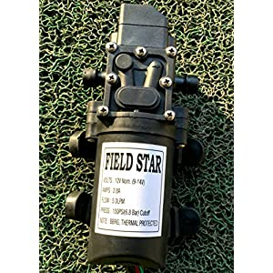 Fieldstar Shanky-Augo-7 Battery Sprayer Pump, 12V (Black)