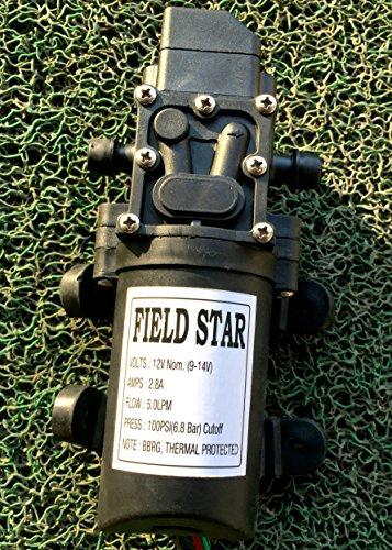 Fieldstar Shanky-Augo-7 Battery Sprayer Pump, 12V (Black)