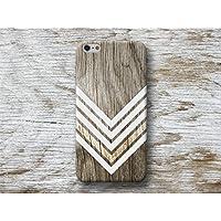 Weiß Chevron Holz Print Handy Hülle Handyhülle für Huawei P10 P9 P8 Lite P7 Mate S G8 Nexus 6P HTC 10 M9 M8 A9 Desire 626