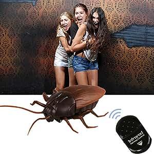 Fernbedienung realistisch gefälschte Kakerlake RC Streich Spielzeug Insekten Witz gruselig Trick