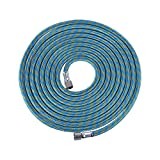 "Docooler Braided Airbrush Hose, 3m / 10ft Nylon Braided Airbrush Hose with Standard 1/8"" Size Fittings on Both Ends"