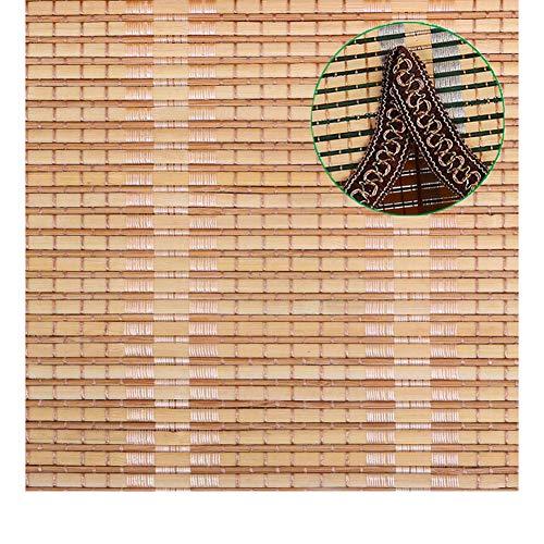 Persiana Enrollable de Bambú de Estilo Japonés, Las Persianas Enrollables de Bambú Anti-UV d Protección Solar, Tienen Resistencia a la Luz Fácil de Instalar