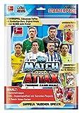 Topps D106115 - DE Match Attax Sammelkarten Bundesligasaison 2017/18, Starterpack Plus mit 11 Karten und Zubehör