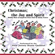 Christmas: Joy & Spirit by New Jersey Brass Quintet (2004-11-29)