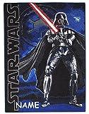 alles-meine.de GmbH Teppich / Spielmatte -  Star Wars / Darth Vader  - Incl. Name - Kinderteppic..