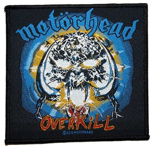 Motörhead Overkill toppa in tessuto 10x 10cm
