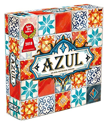 Azul - Grundspiel - Brettspiel | Deutsch | Spiel des Jahres 2018