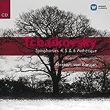 Tchaikovsky: Symphonies 4, 5 & 6 'Pathetique'