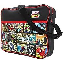 Marvel - Bolso al hombro de sintético para hombre multicolor carbón talla única