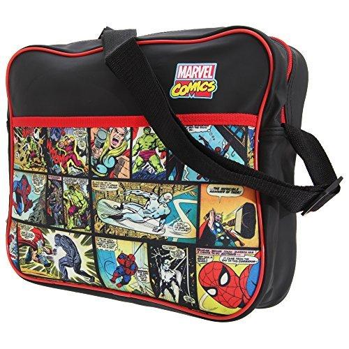 Marvel - Borsa A Spalla Uomo, Multicolore, Taglia Unica