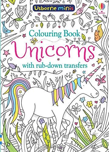 Colouring Book Unicorns with Rub-Down Transfers (Usborne Minis) por Sam Smith