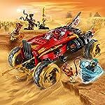 LEGO-Ninjago-Gioco-per-Bambini-Katana-4×4-Multicolore-6250927