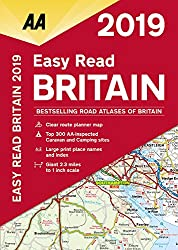 Easy Read Britain 2019 Flexibound (AA Road Atlas Britain)