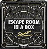 Mattel Games FWK72 Escape Room In A Box Das Werwolf-Experiment, Strategiespiel geeignet für 2 - 8 Spieler, Spieldauer unter 60 Minuten, ab 13 Jahren