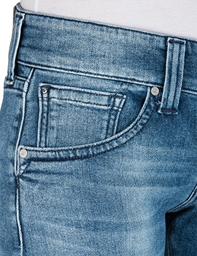 Replay Damen Straight Jeans Newswenfani Blau (Light Blue 10)