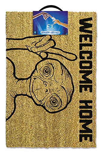 E.T. Felpudo Fibra de Coco, Marrón 60 X 40 X 1.5 Cm