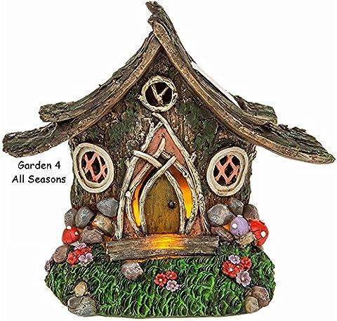 Jardin solaire fée Lumière LED lumineux–Corps Maison Séjour Pixie–Fantaisie–Mini Ornements–Woodland Cottage