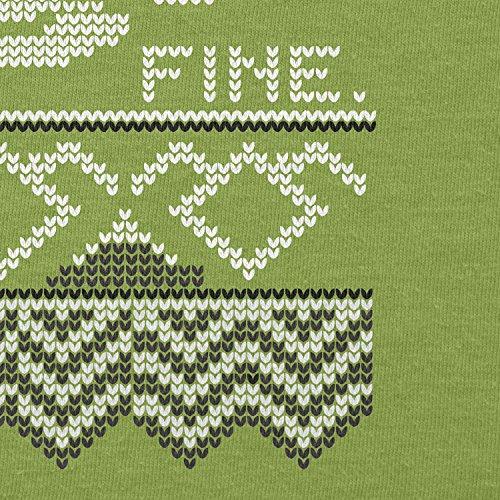 Texlab–damn fine Coffee–sacchetto di stoffa Verde chiaro