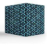 "NISH! Blue Tea Light Candle Holder | Acrylic Tea Light Candle Holder (Clear Acrylic, Small - 3.5"" Cube, 1 Piece)"