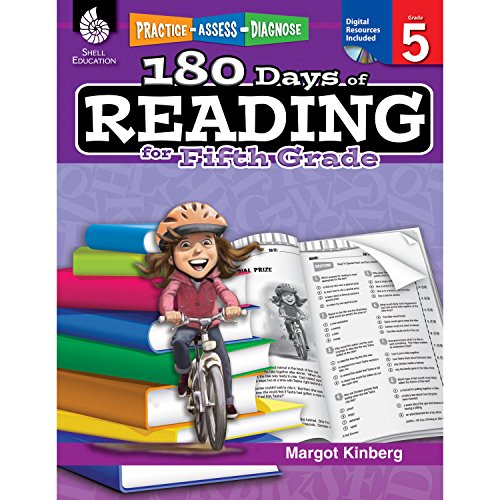 180 Days of Reading for Fifth Grade (Grade 5): Practice, Assess, Diagnose (180 Days of Practice) por Margot Kinberg