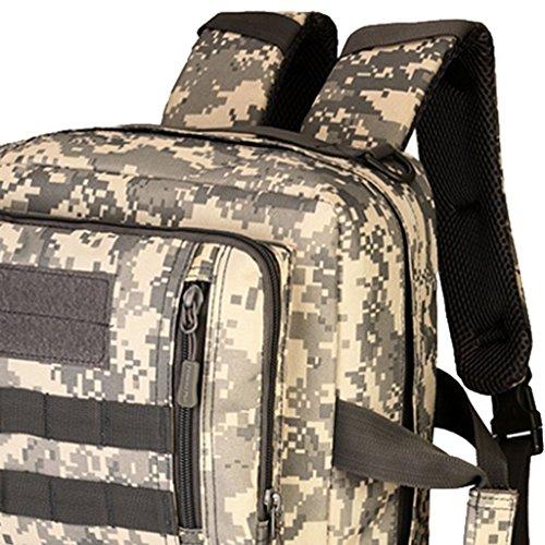 MagiDeal 35 Liter Taktischer Molle Wanderrucksack, Trekkingrucksack, Schultertasche Backpack, Handtasche - als Computer Tasche ACU Digital