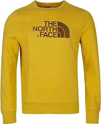 The North Face M Drew Peak Crew Bamboo Yellow App_Top Uomo
