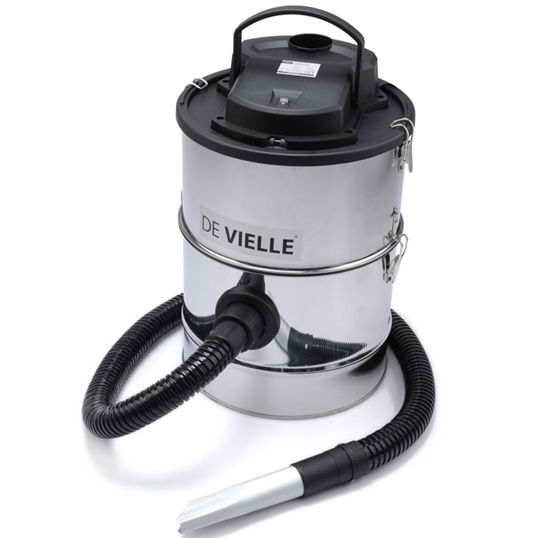 de vielle ash vacuum cleaner metal black 25 litre amazon co uk