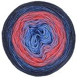 LoLa Farbverlaufswolle Jeansfarben Denim no. 13, Variante:5fach - 250g 750m