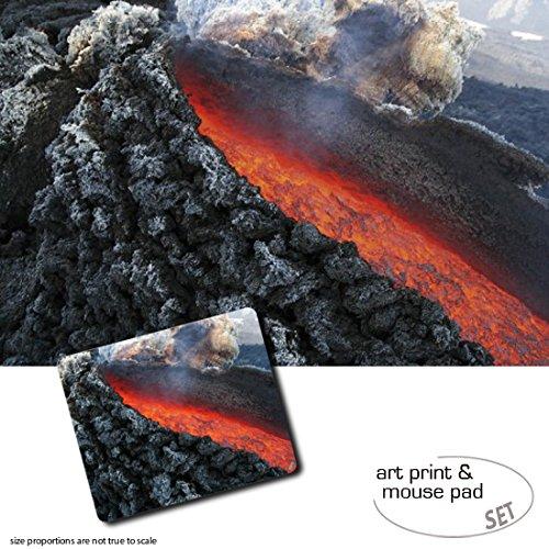 set-regalo-1-poster-impresion-artistica-120x80-cm-1-alfombrilla-para-raton-23x19-cm-volcanes-erupcio