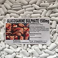 GLUCOSAMINE SULPHATE 1500mg 360 TABLETS The Vitamin FREE P&P (L)