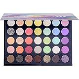 Beauty Glazed Blooming UP Maquillaje profesional de sombras de ojos coloridas 35 Sombra de ojos mate brillante y brillante Sh