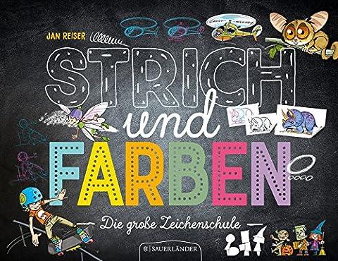 Strich und Farben - Die große Zeichenschule (Die Süddeutsche.de)