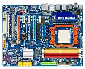 Gigabyte GA-MA790X-UD3P Carte-mère ATX AMD 790X Socket AM2+ UDMA133, SATA-300 (RAID) Gigabit Ethernet FireWire audio HD (8 canaux)