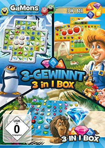 GaMons - 3-Gewinnt 3 in 1 Box (PC)