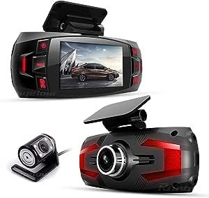 Range Tour Z4 Plus Dual In Auto Dashcam Dvr Digital Drive Video Recorder Front Cam170 Weitwinkel Rückansicht 120 Weitwinkel Auto